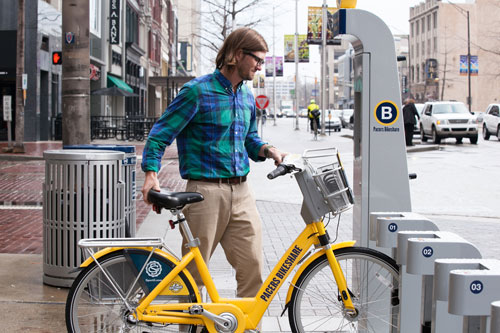how to use bike share